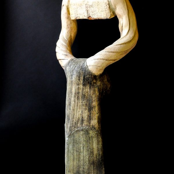 title: macho  / size: 170 cm height /  material: ceramics