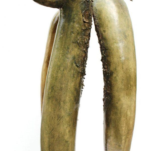 titel: zeekoeten I II III / afmeting: 70 cm hoog / materiaal: keramiek
