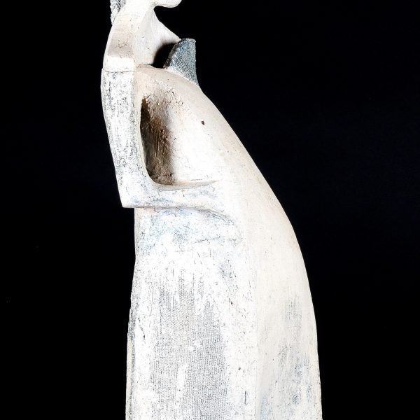 title: woman I / size: 40 cm height  / material: ceramics
