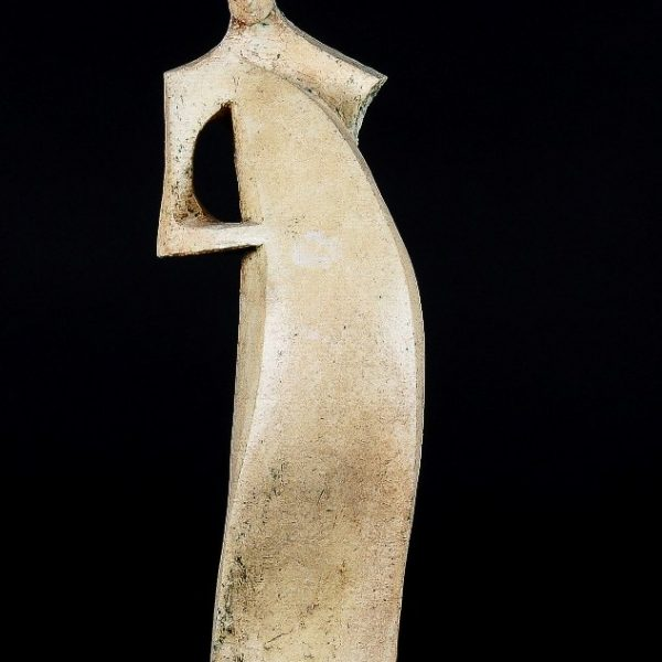 title: woman II / size: 40 cm height  / material: ceramics